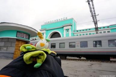 Russie, Transsibérien, gare d'Ekaterinbourg