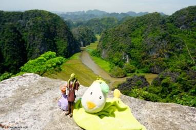 Vietnam, Tam Coc, baie d'Halong terrestre