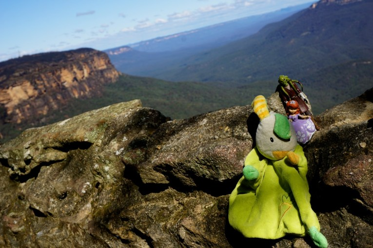 Australie, Blue mountains