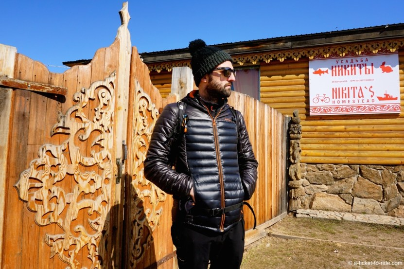 Russie, Olkhon, chez Nikita