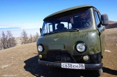 Russie, Olkhon, 4x4