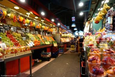 Espagne, Barcelone, marché de la Boqueria
