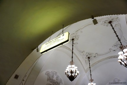 Moscou, plafond du métro