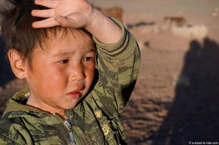 Mongolie, petit Mongol