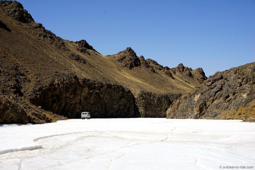 Mongolie, canyon Yolyn Am