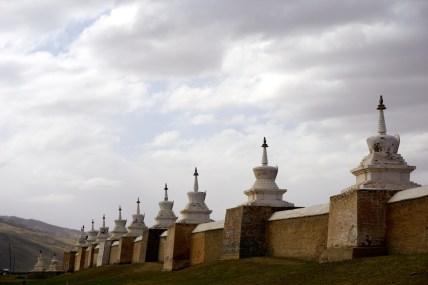 Mongolie, monastère Erdene Zuu Khiid à Kharkhorin