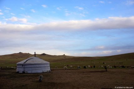 Mongolie, yourte