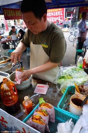 Chine, cuisine de rue