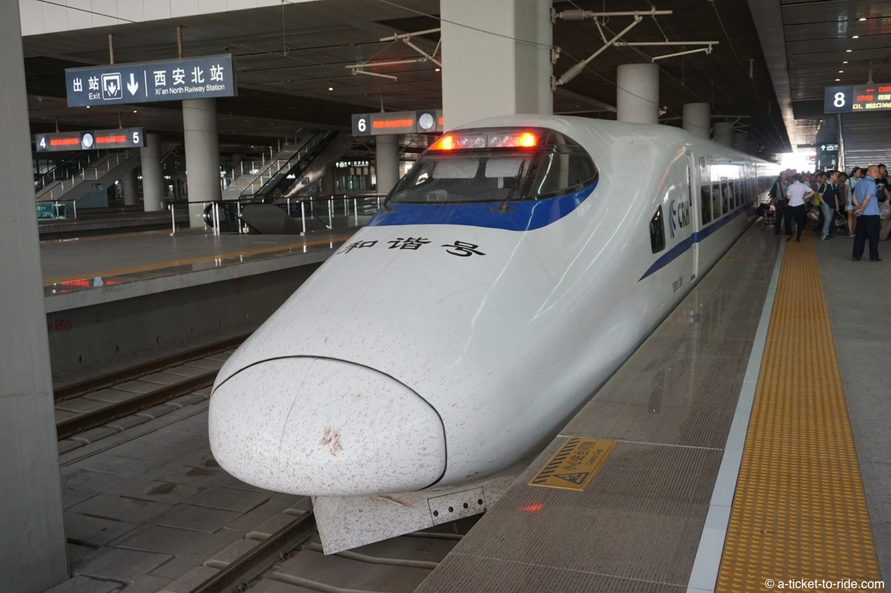 Chine, train express