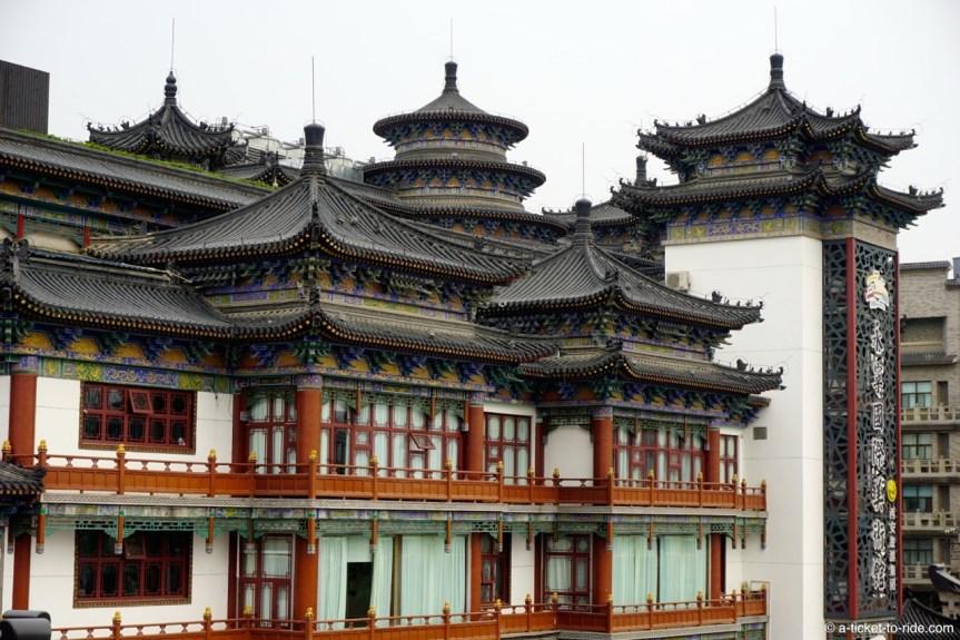 Chine, Xi'an, depuis les remparts