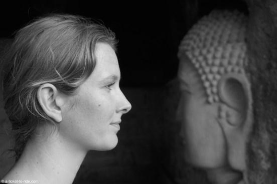 Chine, Leshan, parc du bouddha géant
