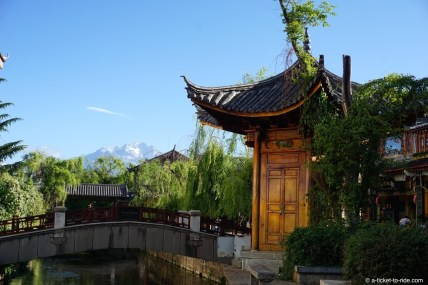 Chine, Lijiang, vieille ville