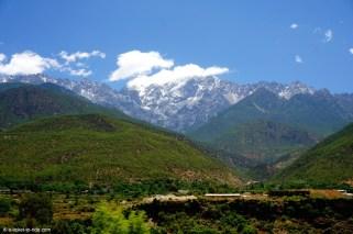 Chine, Lijiang, sur la route de Qiatou