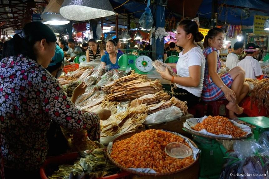 Vietnam, Cat Ba, marché