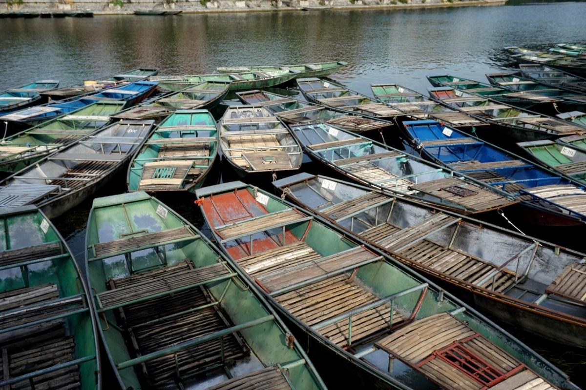 Tam Coc, la baie d'Halong version terrestre