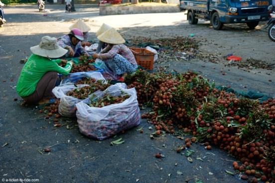 Vietnam, Hué, marché