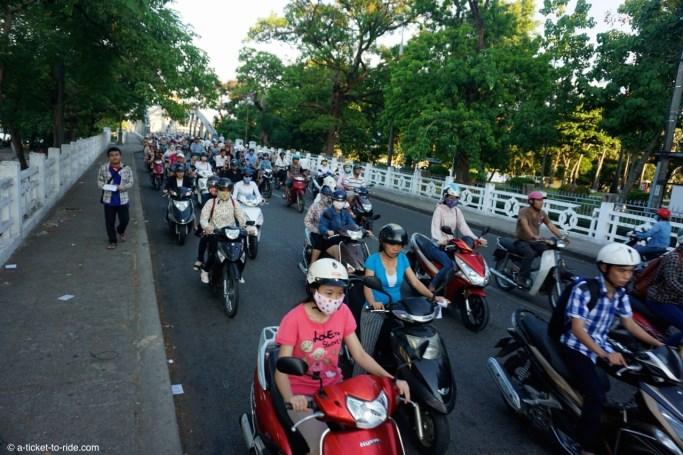Vietnam, Hué, trafic