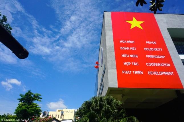 Ho Chi Minh Ville, musée des Vestiges de guerre