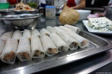 Vietnam, nems au roquefort