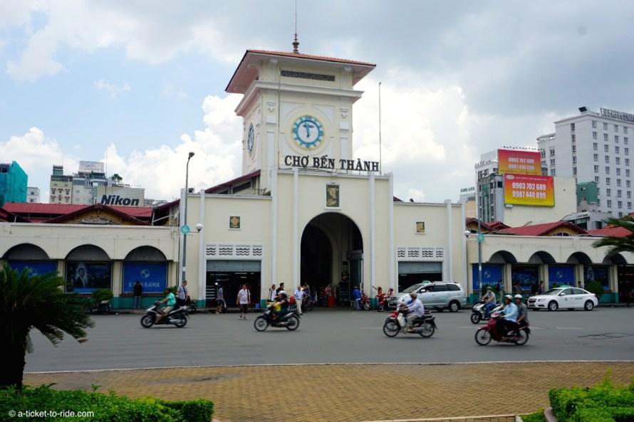 Vietnam, Ho Chi Minh Ville, marché Ben Thanh