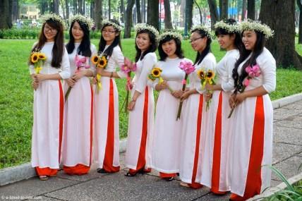 Vietnam, Saïgon, au parc
