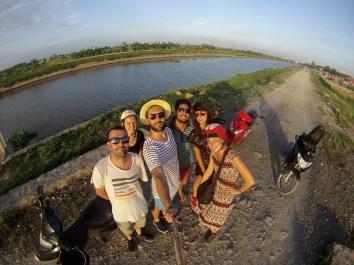 Vietnam, Tam Coc, dans les rizières © Th.