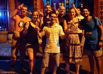 Vietnam, Hoi An, la bande (et une rencontre locale)