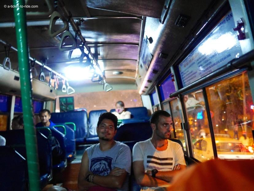 Vietnam, Saïgon, transports