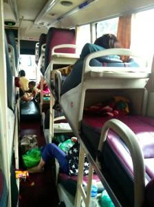 Vietnam, bus couchette