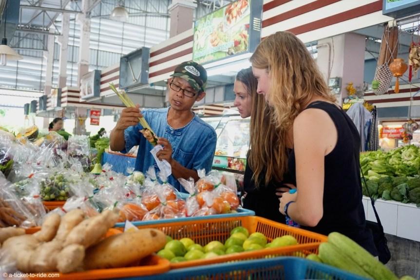 Thaïlande, Chiang Mai, visite marché