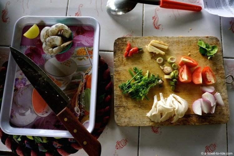 Thaïlande, Chiang Mai, ingrédients