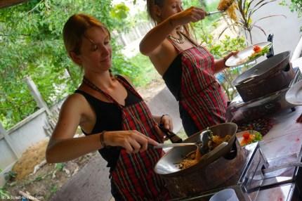 Thaïlande, Chiang Mai, en cuisine