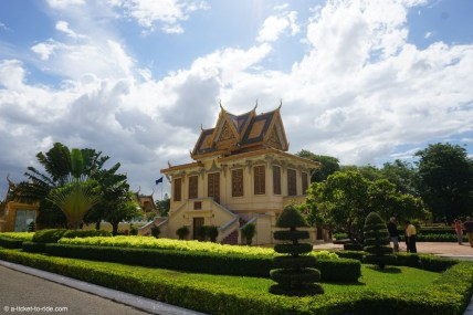 Cambodge, Phnom Penh, Palais royal