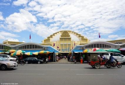 Cambodge, Phnom Penh, marché central