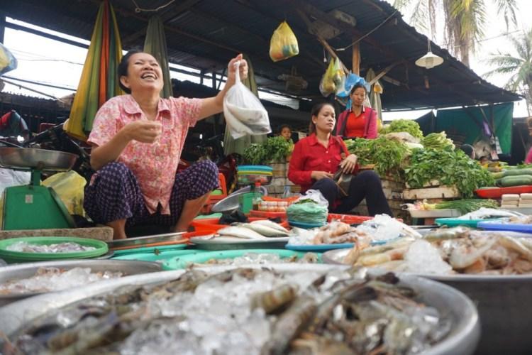 Cambodge, sourire
