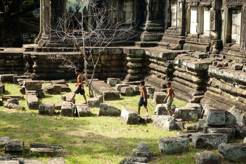 Cambodge, Angkor, enfants