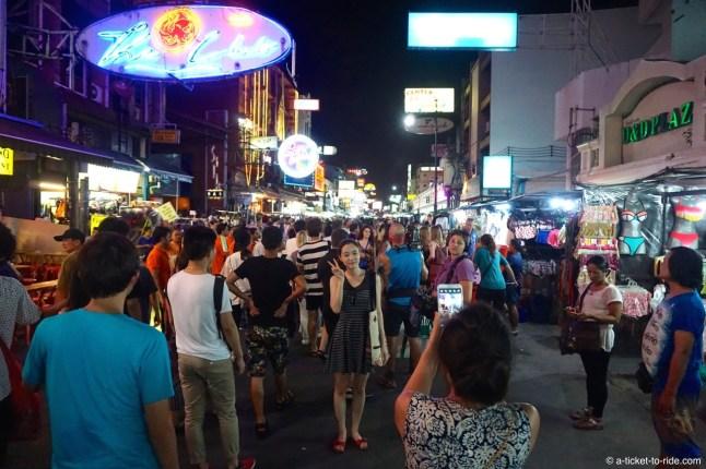 Thailande, Bangkok, Khao San Road