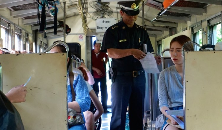 Thaïlande, train