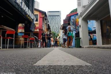 Singapour, autour de la mosquée