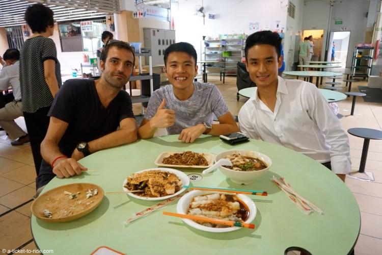 Singapour, food court