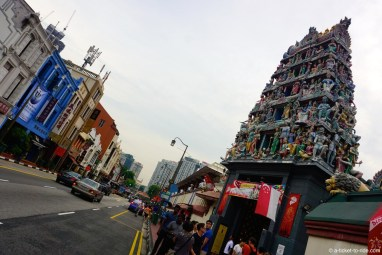 Singapour, temple hindou