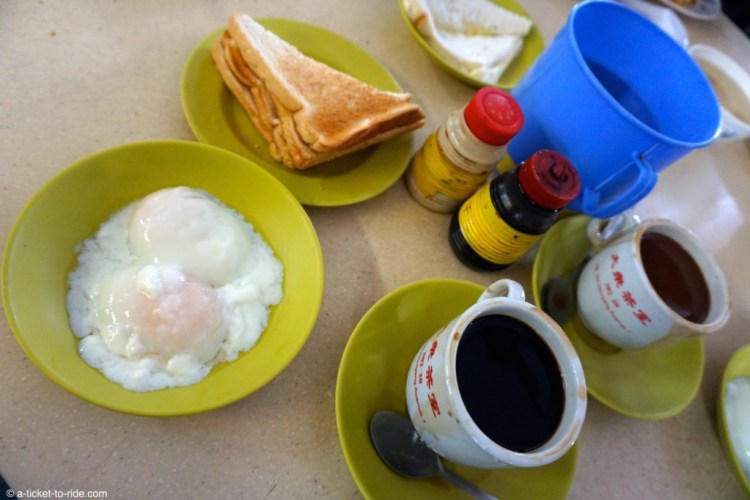 Singapour, kaya toast