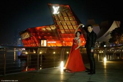 Singapour, des mariés