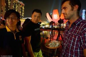 Singapour, l'heure de la dégustation