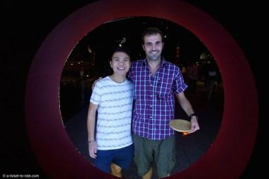 Singapour, Mathieu et Fred, notre ami singapourien