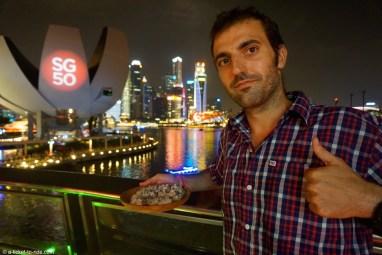 Singapour, prêt à faire goûter du roquefort