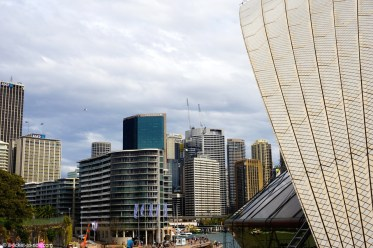 Australie, Sydney, depuis l'opéra