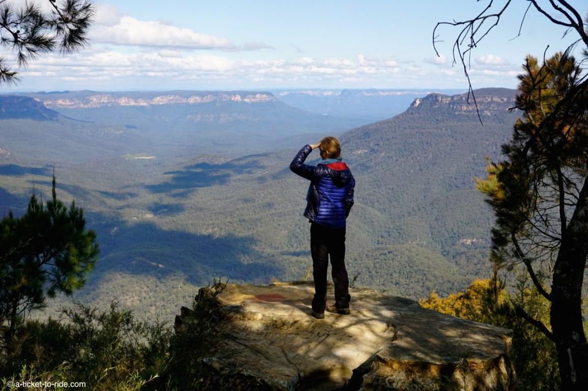 Australie, Blue Mountains, Sublime point