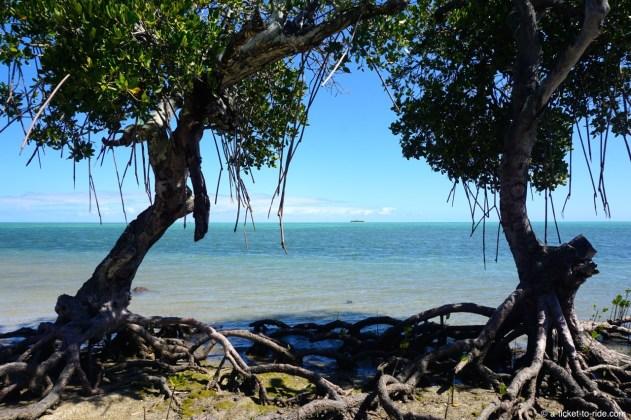 Nouvelle-Calédonie, plage de Ouano