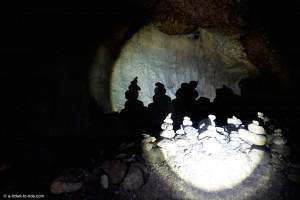 Nouvelle-Calédonie, grottes de Koumac